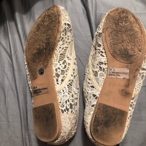 Lace flats from Charlotte Russe